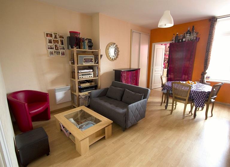 Vente appartement 3 pièces à Lille loué
