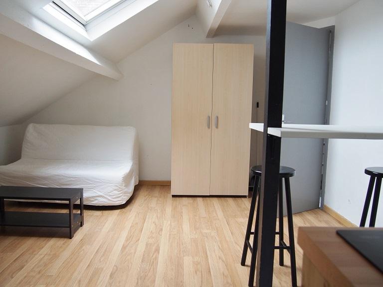 Studio meublé Lille centre